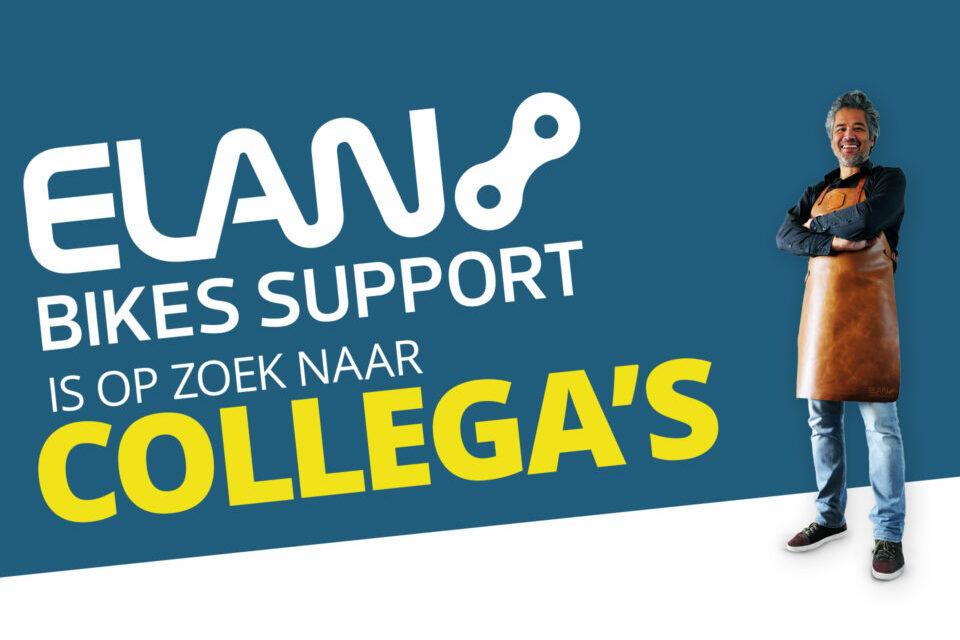 Werken bij Elan Bikes Support